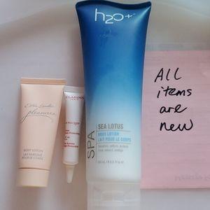 @new@ body lotion, uv day cream
